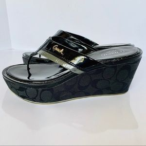 Coach Shoes - Coach Jody Platform Wedge Sandal